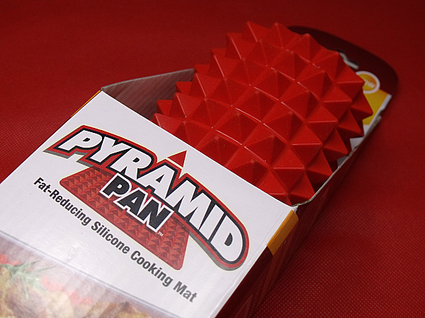 Pyramid Pan Fat Reducing Silicone Baking Mat Mama Likes This