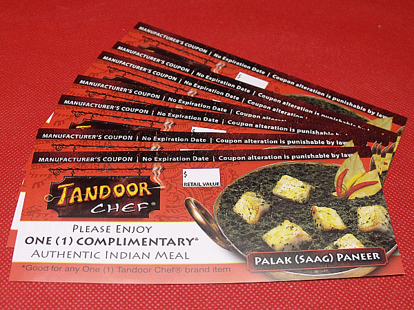 Tandoor Chef Free Coupons