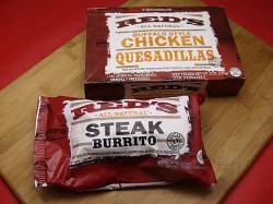 Red's All Natural Quesadillas and Burrito