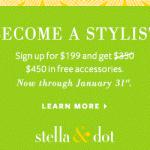 Stella & Dot Stylist Bonus