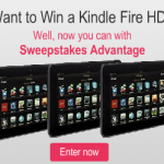 Kindle Fire Sweepstakes – Ends 1/31/14