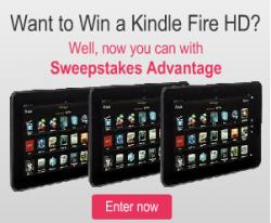 Kindle Fire Sweepstakes