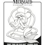 Ariel Little Mermaid Coloring Sheet