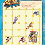 Disney Mickey Mouse Clubhouse Super Adventure Printable Hero Line-Up Game