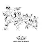Power Rangers Megaforce Printable Coloring Page