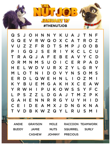 Click HERE to download the free printable word search from the new ...