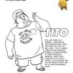 Turbo Printable Tito Coloring Page