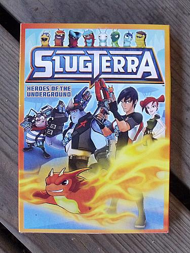 Slugterra: Heroes of the Underground DVD