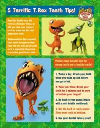 Dinosaur Train Printable Teeth Tips Poster
