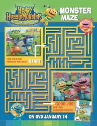 Henry Hugglemonster Printable Maze