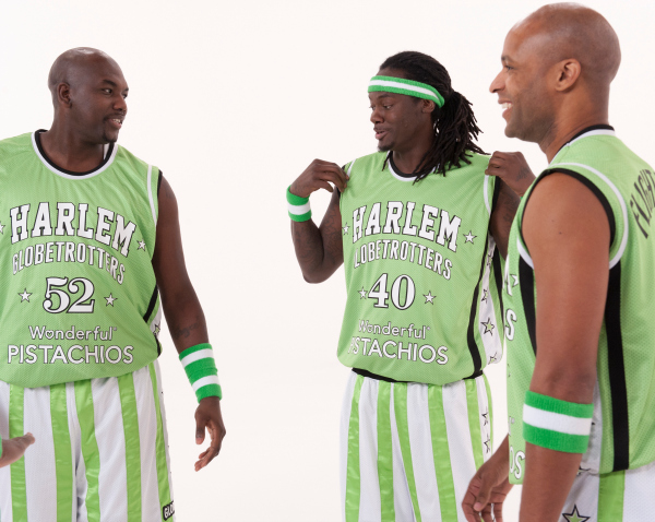 Harlem Globetrotters and Wonderful Pistachios