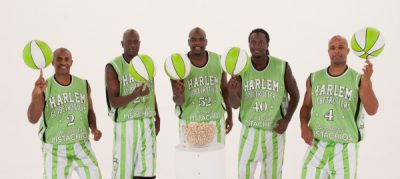 Harlem Globetrotters and Wonderful Pistachios
