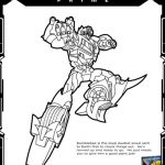 Transformers Prime: Ultimate Bumblebee Printable Coloring Page