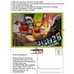 Muppets Most Wanted Printable Postcard
