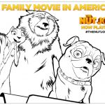 The Nut Job Movie Printable Coloring Page