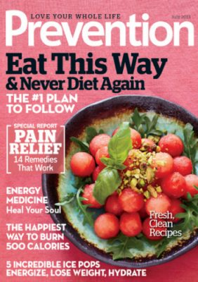 Today Only – Prevention Magazine Subscription – $6.99 with Coupon Code