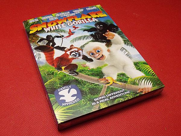 Snowflake White Gorilla DVD