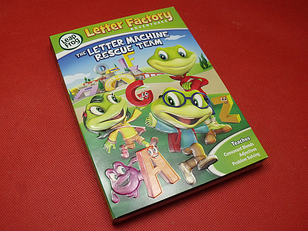 leapfrog letter factory adventures letter machine dvd
