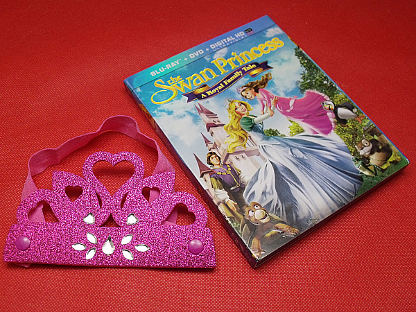 The Swan Princess Blu-ray DVD Combo