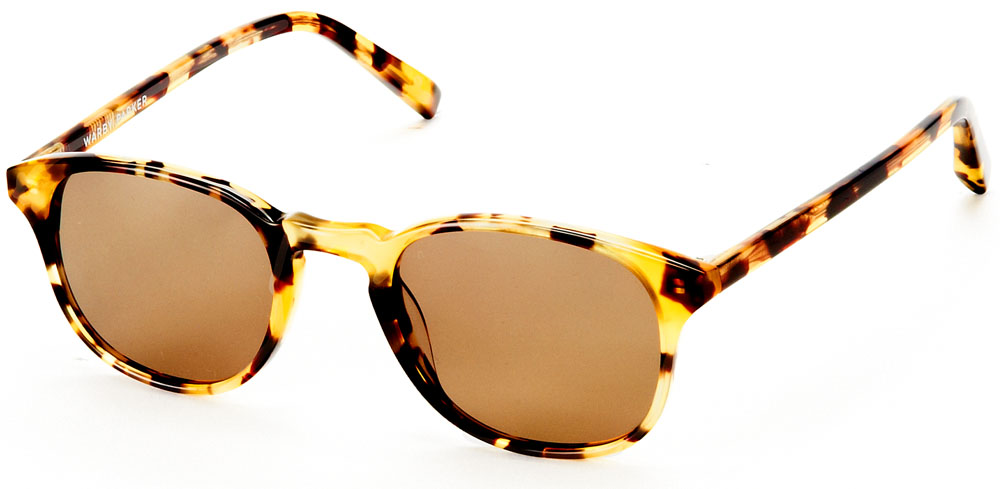 Warby Parker Sunglasses - Downing in Walnut Tortoise