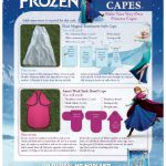 Disney Frozen DIY Princess Capes
