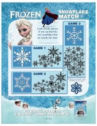 Disney Frozen Printable Matching Game