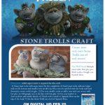 Disney Frozen Stone Trolls Craft