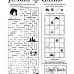 Free Disney Jungle Book Printable Games