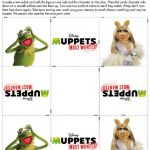 Muppets Printable Memory Card Game