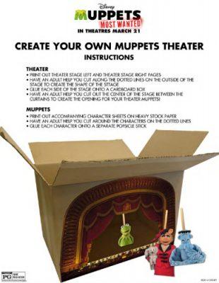 DIY Muppets Puppet Theater