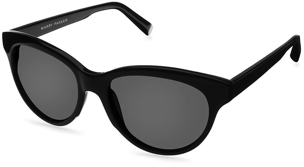 Warby Parker Sunglasses - Piper in Revolver Black