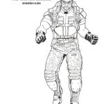 Captain America: The Winter Soldier Sam Wilson Coloring Page