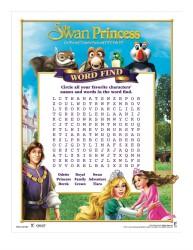The Swan Princess Royal Family Tale Printable Word Search