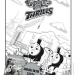 Thomas: Spills & Thrills Coloring Page