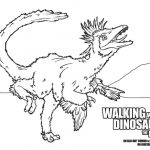 Walking With Dinosaurs Free Coloring Page