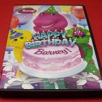 Happy Birthday Barney! DVD