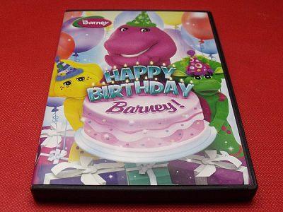 Happy Birthday Barney! DVD