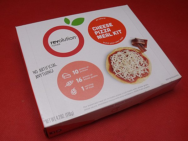 Cheese Pizza Revolution Foods Meal Kit