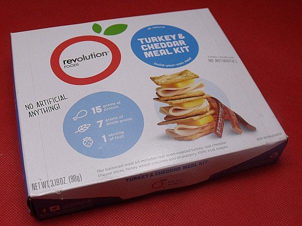 Turkey and Cheddar Revolution Foods Meal Kit
