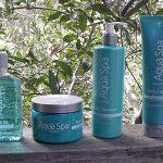 Aqua Spa Eucalyptus Mint Bath Collection