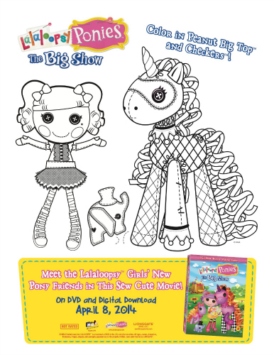 lalaloopsy coloring pages facebook likes - photo#7
