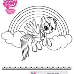 My Little Pony Printable Coloring Sheet