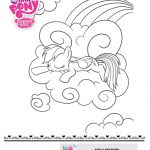 My Little Pony A Dash of Awesome Coloring Sheet