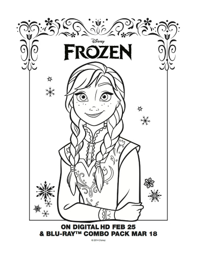 disney coloring pages printable frozen coloring pages