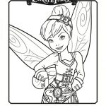 Pirate Fairy Printable Coloring Sheet – Tinker Bell
