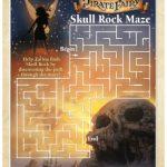Pirate Fairy Printable Skull Rock Maze