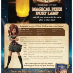 Pirate Fairy Magical Pixie Dust Lamp Craft