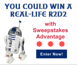 R2D2 Sweepstakes