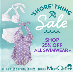 ModCloth Swimwear Sale