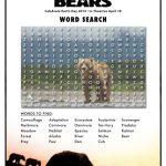 Disneynature Bears Printable Word Search